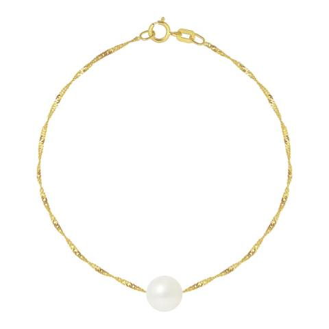 Just Pearl White Pearl Bracelet