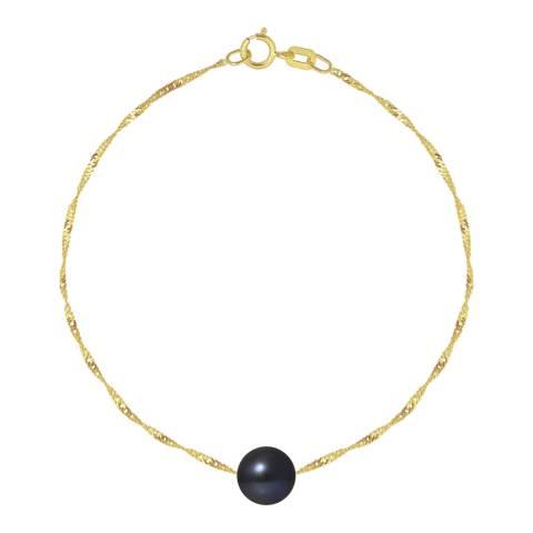 Just Pearl Black Pearl Bracelet