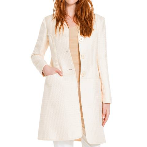 Leon Max Collection Beige Long Coat