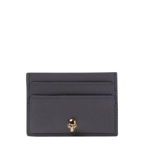 Alexander McQueen Black/Grey Alexander McQueen Skull Wallet