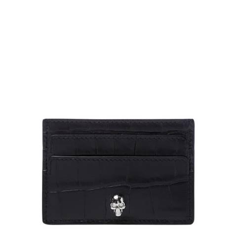 Alexander McQueen Black Alexander McQueen Skull Wallet