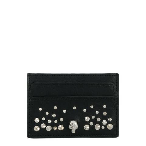 Alexander McQueen Black Alexander McQueen Studded Skull Wallet