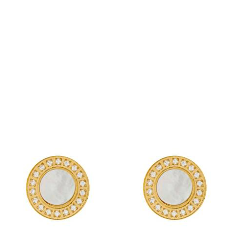 White label by Liv Oliver Gold Pearl Earrings