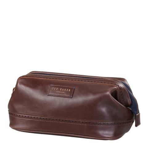 Ted Baker Walnut Brown Shoe Shine Kit