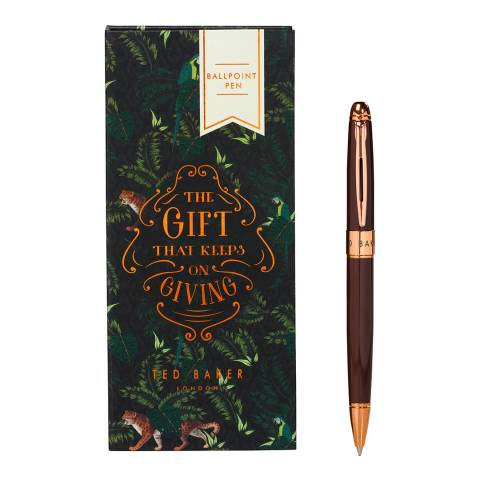 Ted Baker Walnut Brown Pen