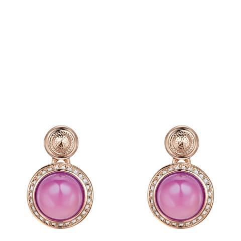 Saint Francis Crystals Rosegold/Lilac Crystal Elements Swarovski Earrings
