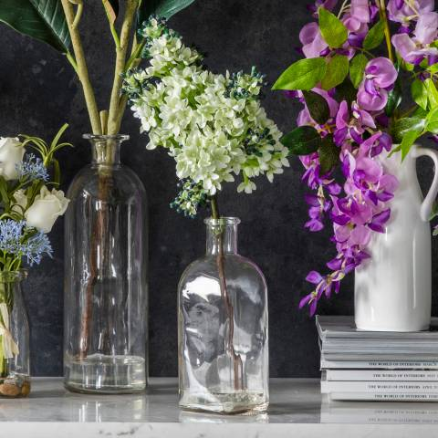 Gallery Faux Stocks In Glass Bottle