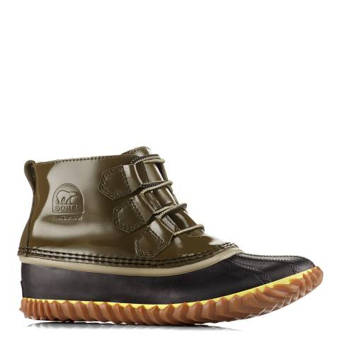 Sorel Sage Green Nori Out N About Rain Boots
