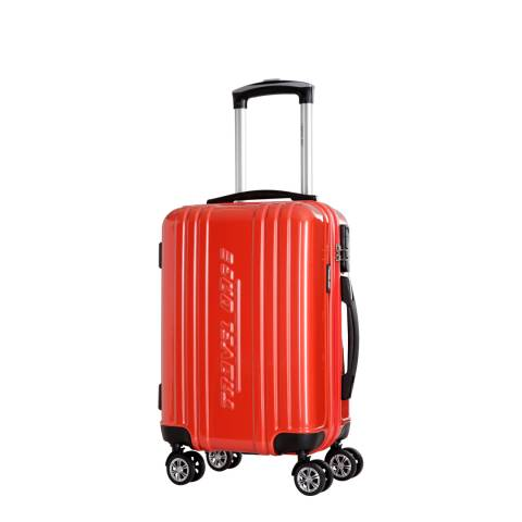 Travel One Red Rodriguez Spinner Suitcases 48cm