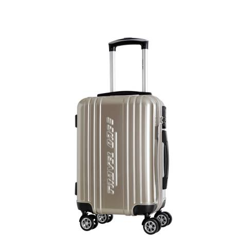 Travel One Beige Rodriguez Spinner Suitcases 48cm
