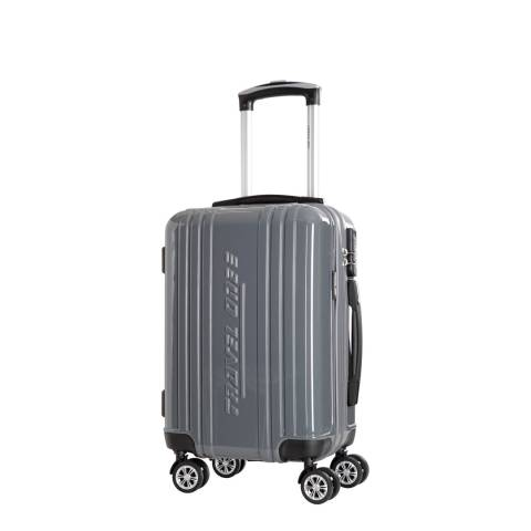 Travel One Grey Rodriguez Spinner Suitcases 48cm