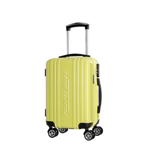 Travel One Yellow Rodriguez Spinner Suitcases 48cm