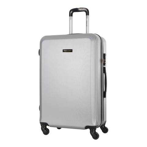 Travel One Silver Alicudi Spinner Suitcase 65cm