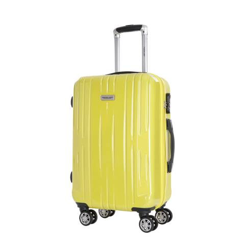Travel One Yellow Clifton Spinner Suitcase 55cm