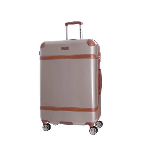 Platinium Beige Venicia Spinner Suitcase 50cm