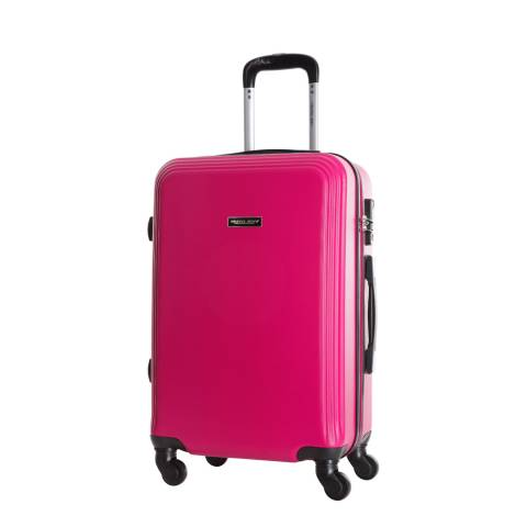 Travel One Pink Alicudi Spinner Suitcase 55cm