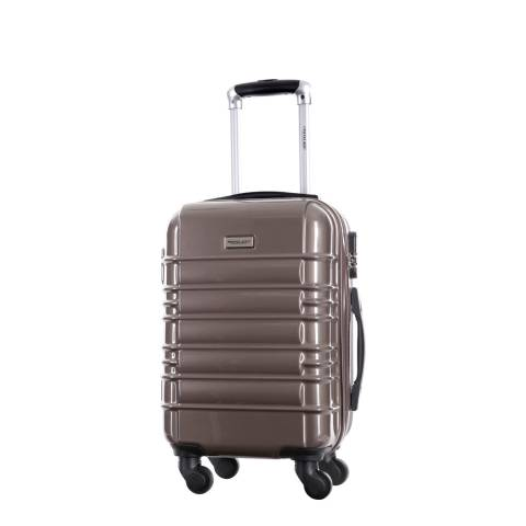 Travel One Brown Princeton Spinner Suitcase 45cm