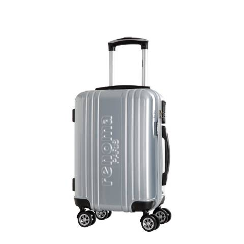 Renoma Silver 4 Wheel Harrison Suitcase 48cm