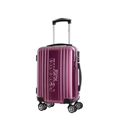 Renoma Purple Harrison Spinner Suitcase 44cm