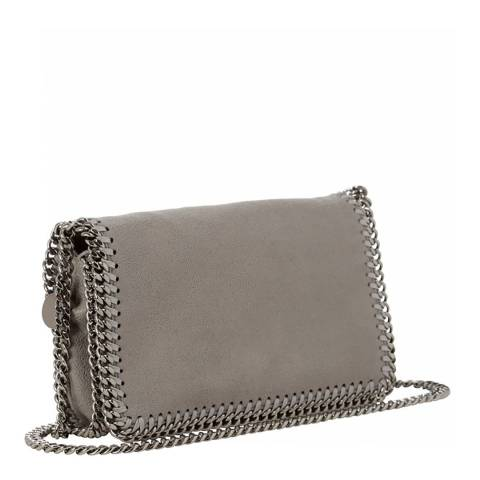 Stella McCartney Light Grey Falabella Crossbody Bag