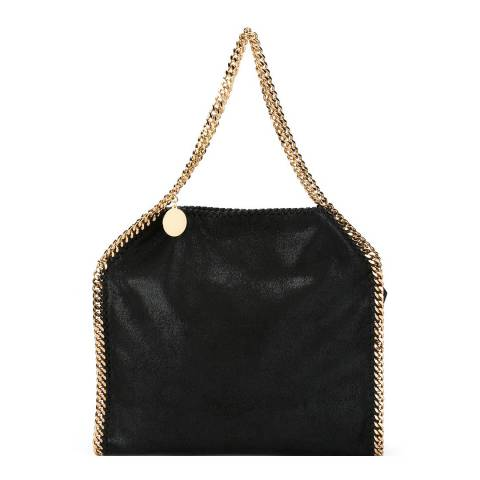 Stella McCartney Black Falabella Gold-tone Hardware Tote