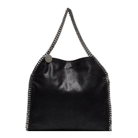 Stella McCartney Black Falabella Logo Tote Bag