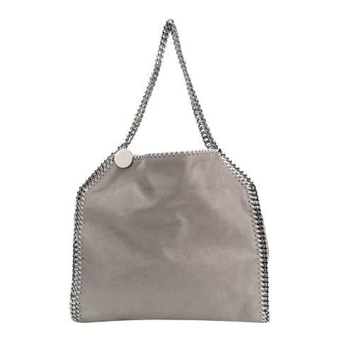 Stella McCartney Light Grey Falabella Logo Tote Bag