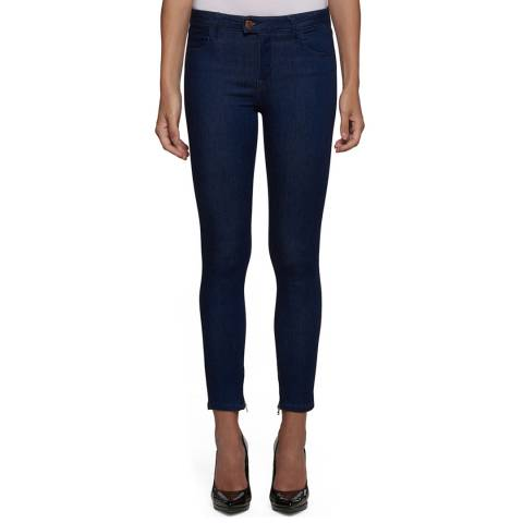 Replay Women's Deep Indigo Skinny Stretch Jeans