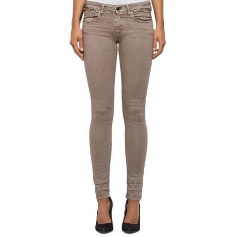 Replay Brown Skinny Stretch Jeans