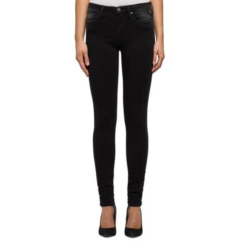 Replay Black Skinny Stretch Jeans