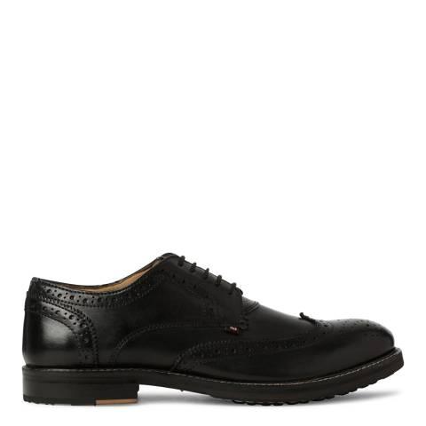 Ben Sherman Black Leather Patrick Brogue
