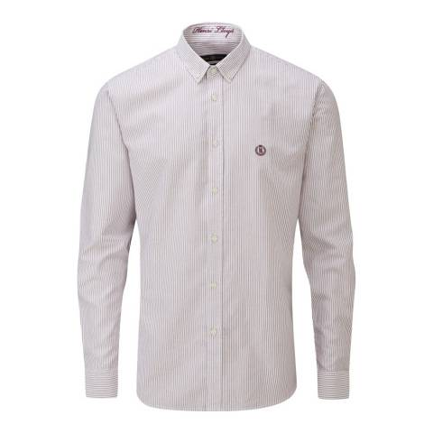 Henri Lloyd Burgendy Howard Club Regular Shirt
