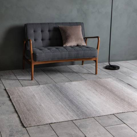 Gallery Grey/Taupe Ombre Rug 120x170cm