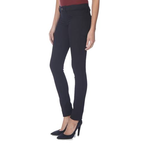 Diesel Navy Livier Stretch Skinny Jeggings