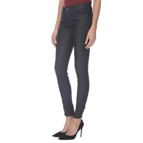 Diesel Off Black Wash Doris Stretch Skinny Jeans