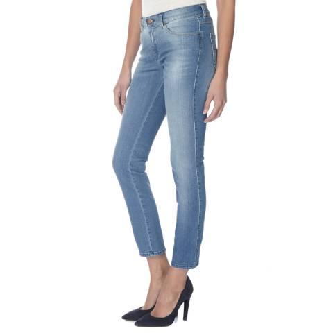 Diesel True Blue Sandy Stretch Slim Fit Jeans