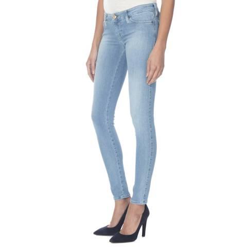 Diesel Blue Skinzee Stretch Skinny Jeans