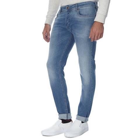 Diesel Light Blue Sleenker Stretch Slim Fit Jeans