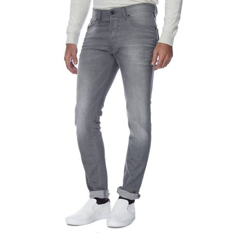 Diesel Mid Grey Tepphar Stretch Slim Fit Jeans