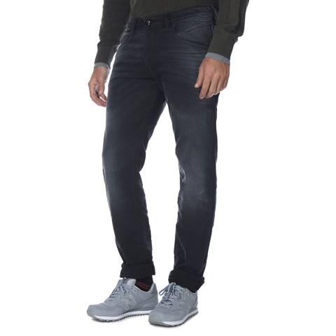 Diesel Dark Grey Belther Stretch Slim Fit Jeans