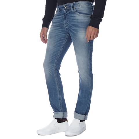 Diesel Blue Thavar Stretch Slim Fit Jeans