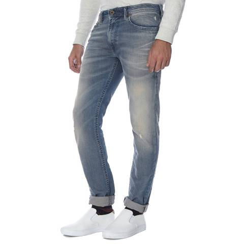Diesel Blue Thommer Stretch Slim Fit Jeans