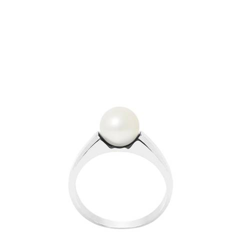 Manufacture Royale Natural White Forever Pearl Ring