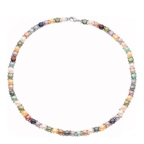 Perlinea Pearls Multicoloured Freshwater Pearls Necklace