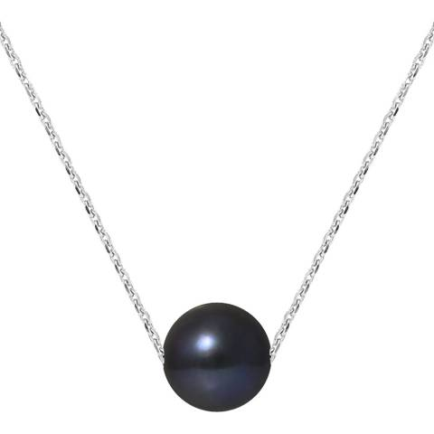Manufacture Royale Black Tahitian Style Freshwater Pearl Necklace