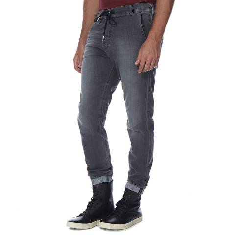 Diesel Grey Duff Stretch Slim Fit Jeans