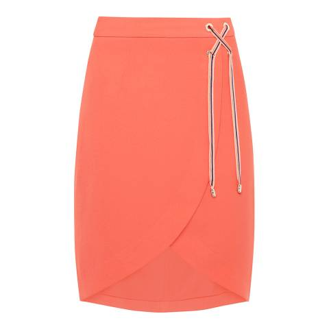 Ted Baker Coral Yooy Crossover Front Skirt