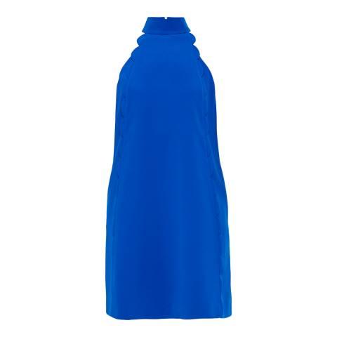 Ted Baker Blue Torrii Halterneck Scallop Tunic