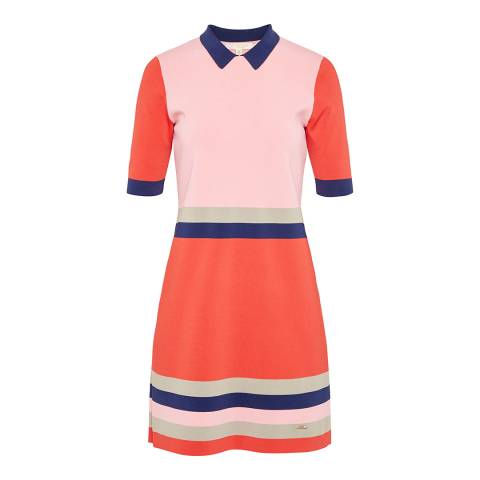 Ted Baker Red Origami Knitted Dress