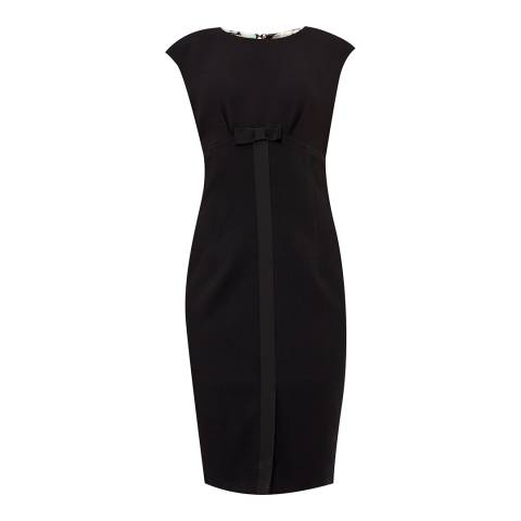 Ted Baker Black Zeevad Bow Detail Pencil Dress